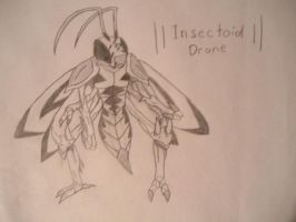 Insectoid Drone by Fire-Drake