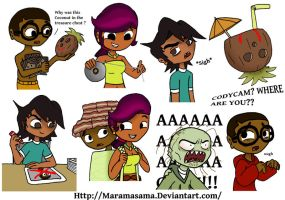 Some Total Drama by Maramasama