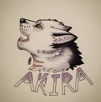 First of three badges :) by amberdraws