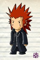 Scribblenauts: Axel by fridayivy