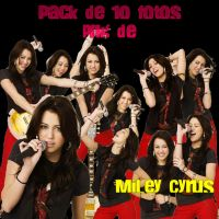 Pack de miley cyrus png by AbriiilEditions