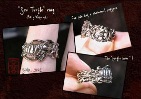 """""""Sea Turtle"""" ring by somk"""