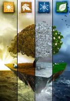The 4 seasons by drouch