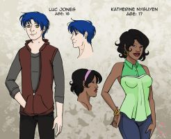Meet Luc and Katherine by Musashden