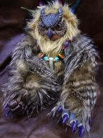 Surly Owlbear doll by missmonster