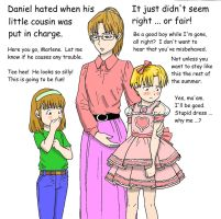 Crossdressing Coloring Contest - Daphne's example by Daphnesecretgarden