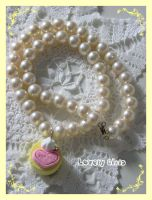 For You Cake Necklace by mymelody1
