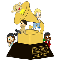 GRAMMY by gleefulchibi