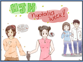 HJH Nyotalia Week Poster Contest Entry by abegailbucu