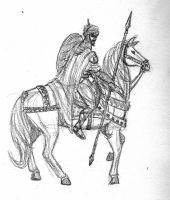 Carthaginian Cavalry by Bronze-Corsair