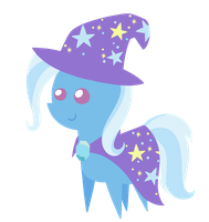 The Great and Powerful Trixie chibi 2 by Diigii-Doll