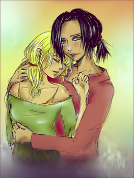 Ymir and Historia: Our own choice by McFearless1810