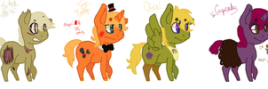 Five Nights at Freddy's Pon Adopts [OTA - CLOSED] by S-ombre-StarIight