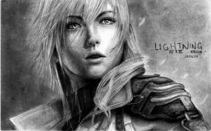 Lightning - FF XIII by reniervivas666
