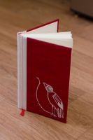 Book and Bird by K-a-k-i