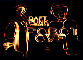 Daft Punk: Robot Love by eslis
