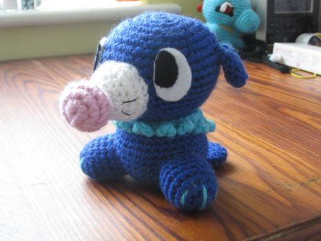 Popplio Amigurumi by BlueHorizon89