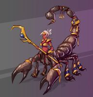 Scorpion Lady by Sodano