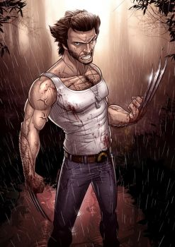X-Men Origins: Wolverine by PatrickBrown