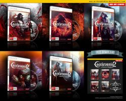 Castlevania: Lords of Shadow 2 Box Art Covers by archnophobia