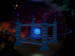The City in space (Close up of the Building) by The--Grimreaper