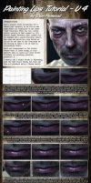 Lips Tutorial V4 (Male Lips) by Packwood