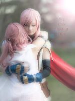Lightning and Serah ! :D by CosmicNya