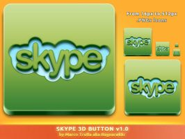 Skype 3D Button v1.0 by Ragnarokkr79