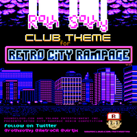 Retro City Raver -Cover Art- by RothSothy