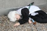 Hitsugaya cosplay - Defeated by Neokillerqc