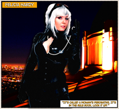 Queen Riot - Felicia Hardy by ATiC3