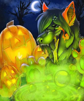 Ghoulish Delight-Halloween by Ifus