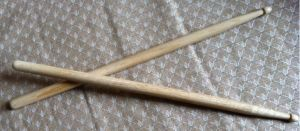 drum sticks made from oak by U140