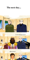 MMD Hetalia - Three Cafe countries United END by PikaBlaze
