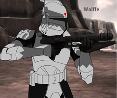 Wolffe by Sonny007