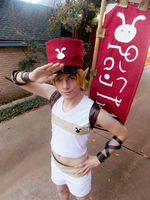 Postman Link Cosplay - Hyrule Warriors by NipahCos