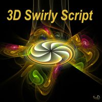 3D Swirly Script by Kabuchan
