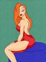 Jessica Rabbit by 27ImaginaryLines