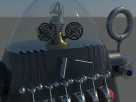Robby the Robot 8 by RoyStanton