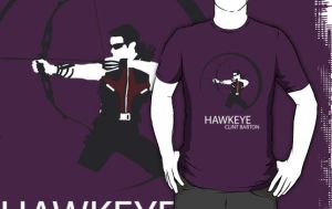 The Avengers - Hawkeye shirt by Mr-Saxon