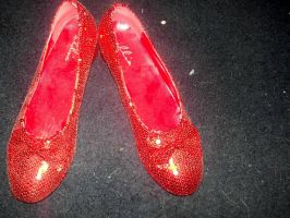My Friend's Ruby Slippers by TheWizardofOzzy