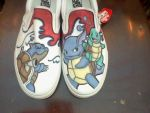 Pokemon Shoes---Squirtle Evol. by XxDyRexX