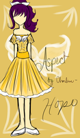 Homestuck Aspect Dresses- Hope by GoldenChase