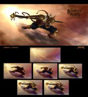 The Monkey King Design 2 final by caananwhite