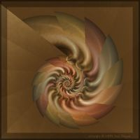 Square Border by aartika-fractal-art
