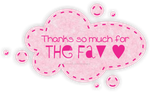 Fav Button 2 small - Pastel Pink by SammyJackles