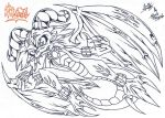 :FanART-Collab: Volahsil The Dragon Sketch by AceOfSpeed94