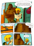 Life on the Road page 1, A nudist comic by Thomas-J-Baker
