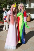 Princess BubbleGum and Lady Unicorn by EriTesPhoto