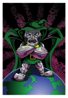 Dr. Doom by kudoze